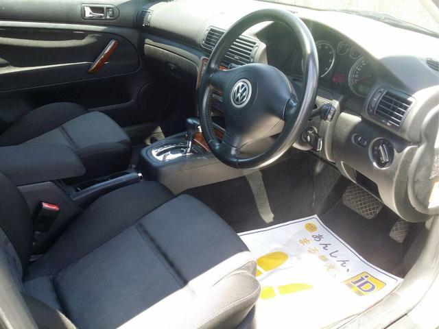 フォルクスワーゲン VW パサートワゴン V5 ETC ツイーター 純正アルミ ブラックインテリア