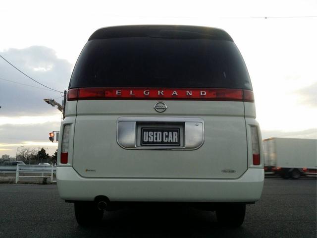日産 エルグランド VGナビエディションオーテックアンシャンテ 福祉車両 ETC