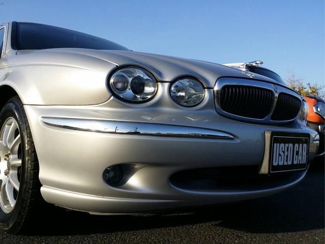 ジャガー ジャガー Xタイプ 2.0 V6 レザーシート 純正ナビ ボンネットマスコット