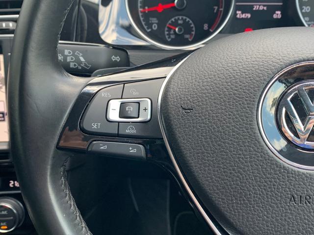 TSIハイラインブルーモーションテクノロジー 2016yモデル 追従クルーズ 衝突軽減ブレーキ ディスカバープロ(フルセグ/Bluetooth/DVD/CD/AUX) ETC 専用シート&インテリアパネル LEDポジション付キセノン 純正17AW(35枚目)