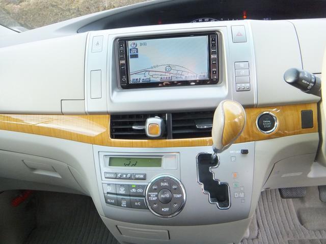 トヨタ エスティマ 2.4アエラス Gエディション フルセグ Bカメラ 両パワ