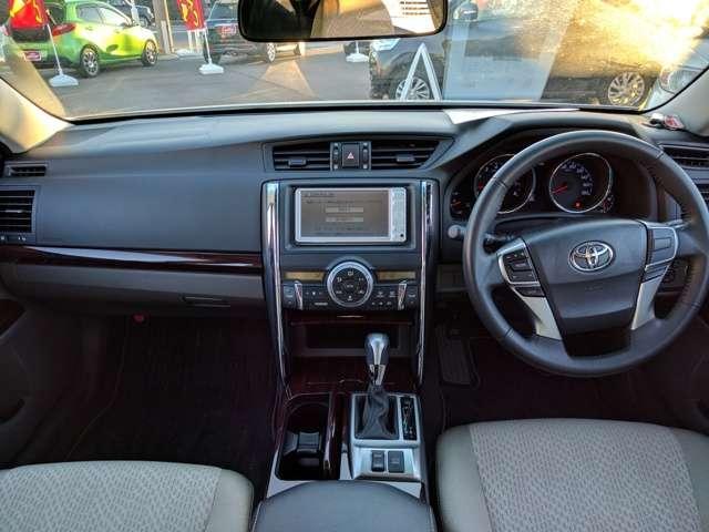 トヨタ マークX 250G リラックスセレクション ナビ ワンセグ Bカメラ