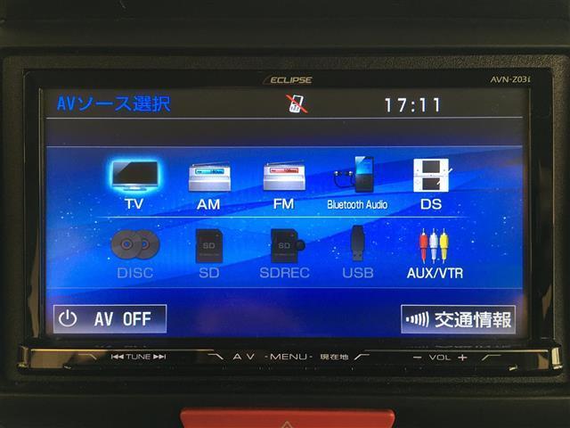 G SSパッケージ 社外SDナビ・フルセグテレビ・バックカメラ・両側パワースライドドア・キセノンライト・フォグランプ・プッシュスタート・スマートキー・ウインカーミラー・純正14インチアルミ(4枚目)