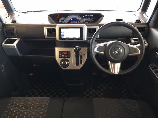 X SA ターボ・社外SDナビ・衝突軽減ブレーキ・片側パワースライドドア・プッシュスタート・スマートキー・LED・フォグ・オートライト・ETC・リアサンシェード・社外14インチAW(2枚目)