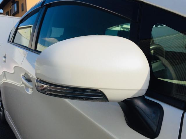 【ウィンカー付き電動格納ミラー】対向車からも認識されやすく、デザイン性もバッチリです♪