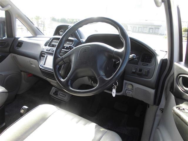 三菱 デリカスペースギア シャモニー 4WD DVD再生可能ナビ ETC 純正アルミ