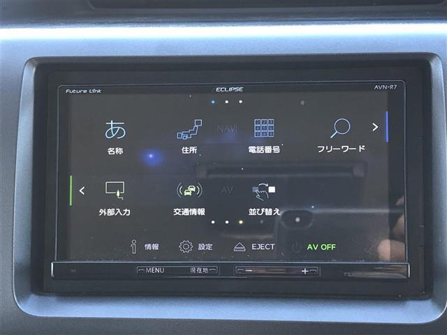 G 4WD フルセグナビ フリップダウンモニター DVD BT キーレスエントリー ETC(6枚目)