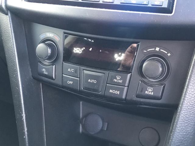 AUOTエアコンで快適な空調装備。車内をいつでも快適に保てます。