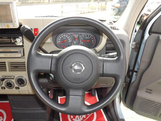 日産 キューブ SX 4WD