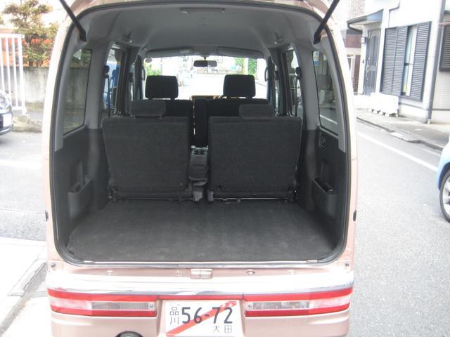 カスタムターボRS ドアバイザー プライバシガラス ターボ 4WD 禁煙車(12枚目)