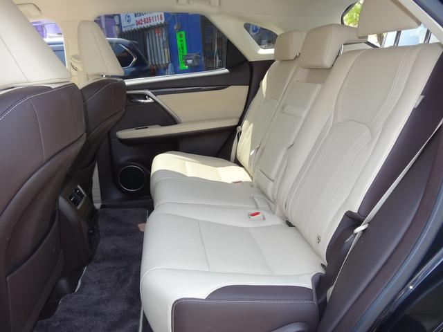 RX450h 4WD本革シート純正ワイドナビ5年保証対象車(11枚目)