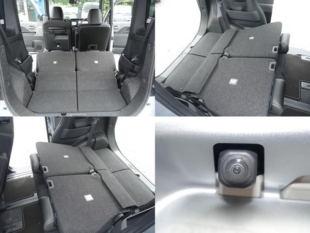 カスタムX スマートアシスト パナソニックナビ フルセグTV DVD再生 Bluetooth バックモニター 運転席スーパースライドシート 両側オートスライドドア 禁煙車 ハーフレザーシート 最長10年保証対象車(5枚目)