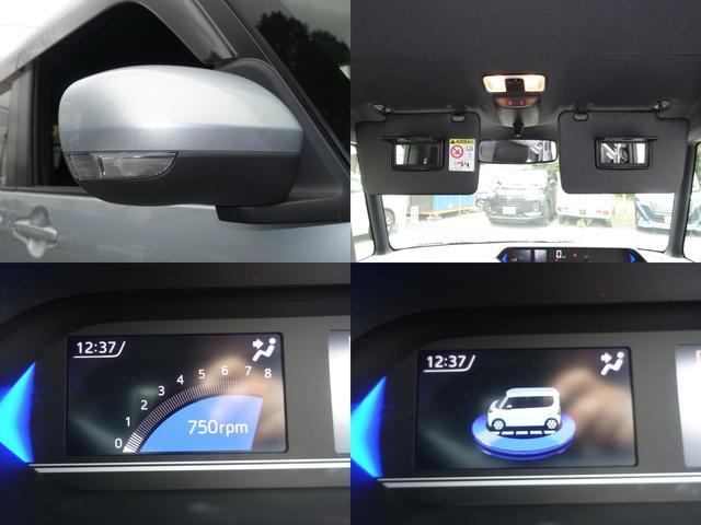 カスタムX スマートアシスト パナソニックナビ フルセグTV DVD再生 Bluetooth バックモニター 運転席スーパースライドシート 両側オートスライドドア 禁煙車 ハーフレザーシート 最長10年保証対象車(13枚目)