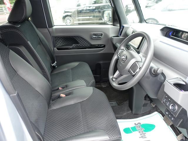 カスタムX スマートアシスト パナソニックナビ フルセグTV DVD再生 Bluetooth バックモニター 運転席スーパースライドシート 両側オートスライドドア 禁煙車 ハーフレザーシート 最長10年保証対象車(23枚目)