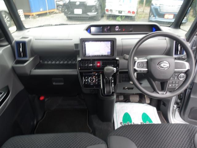 カスタムX スマートアシスト パナソニックナビ フルセグTV DVD再生 Bluetooth バックモニター 運転席スーパースライドシート 両側オートスライドドア 禁煙車 ハーフレザーシート 最長10年保証対象車(26枚目)