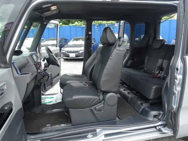 カスタムX スマートアシスト パナソニックナビ フルセグTV DVD再生 Bluetooth バックモニター 運転席スーパースライドシート 両側オートスライドドア 禁煙車 ハーフレザーシート 最長10年保証対象車(27枚目)