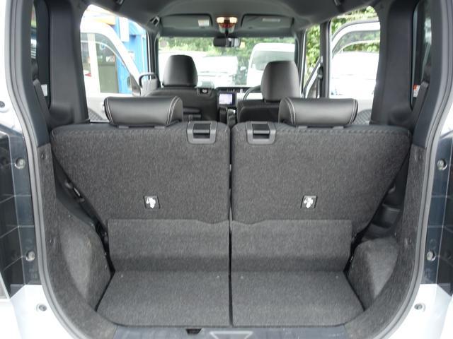 カスタムX スマートアシスト パナソニックナビ フルセグTV DVD再生 Bluetooth バックモニター 運転席スーパースライドシート 両側オートスライドドア 禁煙車 ハーフレザーシート 最長10年保証対象車(29枚目)