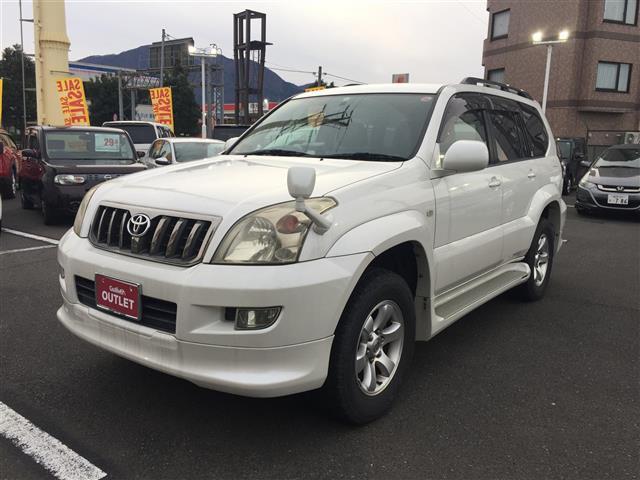 「トヨタ」「ランドクルーザープラド」「SUV・クロカン」「福井県」の中古車7