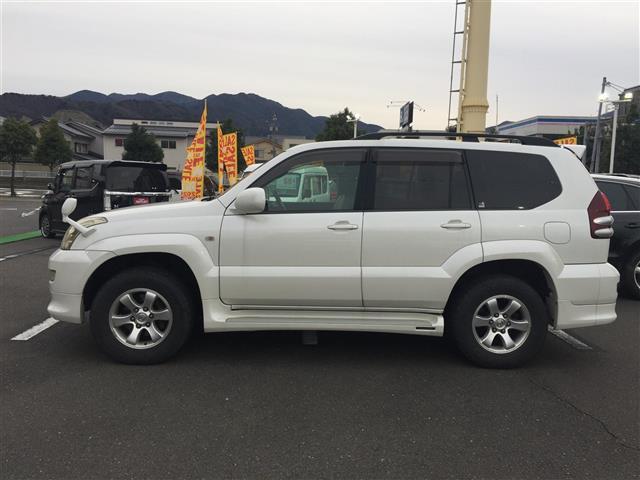 「トヨタ」「ランドクルーザープラド」「SUV・クロカン」「福井県」の中古車8