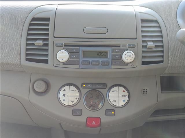 日産 マーチ 14E FOUR 4WD スマートキー CD