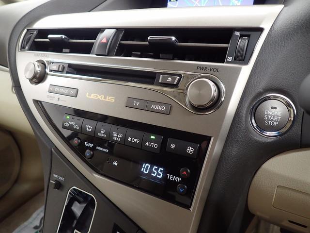 レクサス RX RX350 バージョンL ベージュ革シート HDDナビ