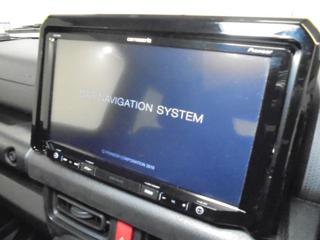 JL セーフティサポート装着車 デュアルセンサーブレーキサポート 車線逸脱警報機能 パートタイム4WD 5速MT 社外9型メモリーナビ フルセグTV  シートヒーター ETC オートライト スマートキーX2(6枚目)