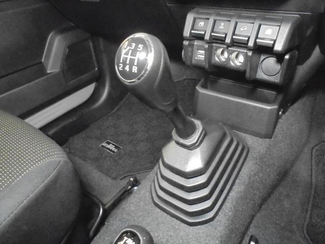 JL セーフティサポート装着車 デュアルセンサーブレーキサポート 車線逸脱警報機能 パートタイム4WD 5速MT 社外9型メモリーナビ フルセグTV  シートヒーター ETC オートライト スマートキーX2(7枚目)