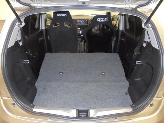 ベースグレード ターボ 社外14AW ダウンサスキット フジツボマフラー 運転席バケットシート 助手席RECAROシート 社外オーディオ オートライト HIDヘッドライト フォグランプ プッシュスタート スマートキー(15枚目)