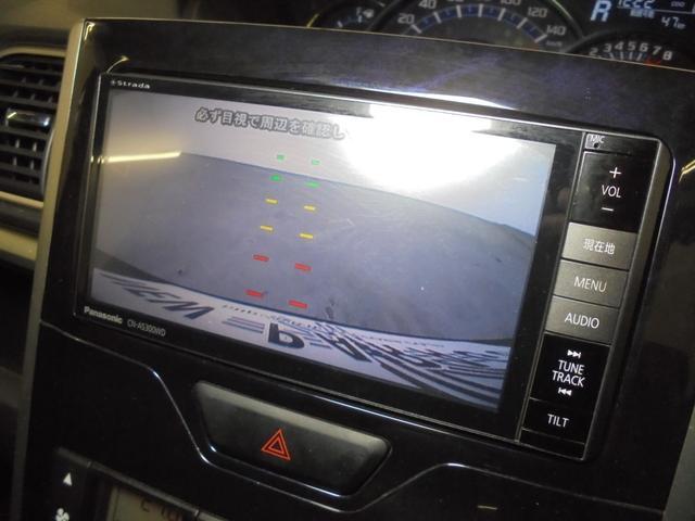カスタムX トップエディションSAII 片側パワスラ 衝突軽減ブレーキ 社外7.8型SDナビ フルセグTV Bカメラ レーンアシスト リアコーナーセンサー ハーフレザーシート LEDライト LEDフォグ プッシュスタート スマートキー(8枚目)