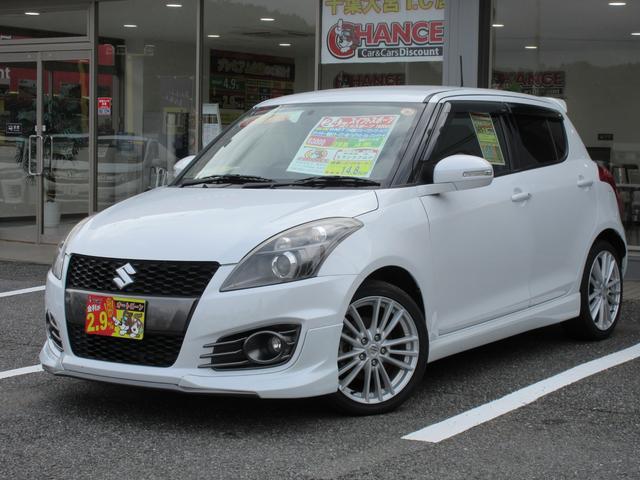 「スズキ」「スイフトスポーツ」「コンパクトカー」「千葉県」の中古車5