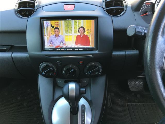 マツダ デミオ 13C-V スマートEDII メモリーナビ ワンセグ CD
