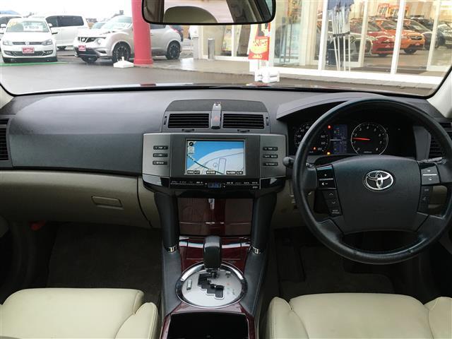 トヨタ マークX 250G HID バックカメラ 革シート  パワーシート