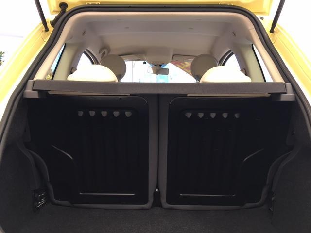 フィアット フィアット 500 1.2 8V ポップバニライエロー 社外ナビ ETC