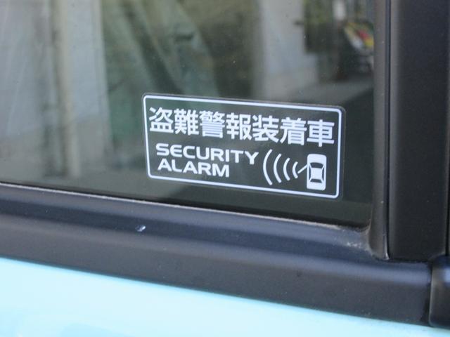 盗難警報装置もついてます。