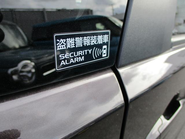 セキュリティーアラーム。盗難警報装置です。電波を使わずにドアを開けてしまうとクラクションで異常を知らせてくれます。