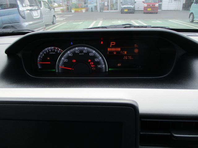 スッキリ、ハッキリ、メーター周り。見やすいから長距離ドライブも快適です。疲れ知らずのらくらくロングドライブ。