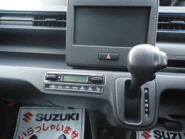 操作しやすいインパネオートマ・オーディオレス車です。