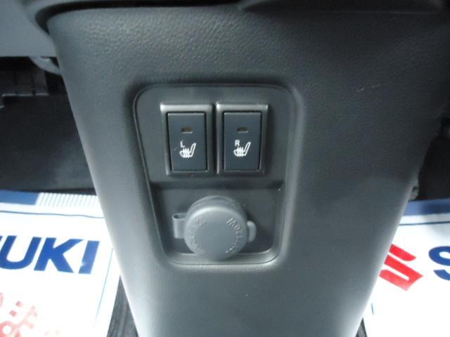 運転席助手席シートヒータ装備です。