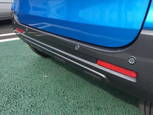 駐車が苦手な方も、このセンサーが付いていれば安心です。運転手が見えないところの障害物を車が教えてくれます。
