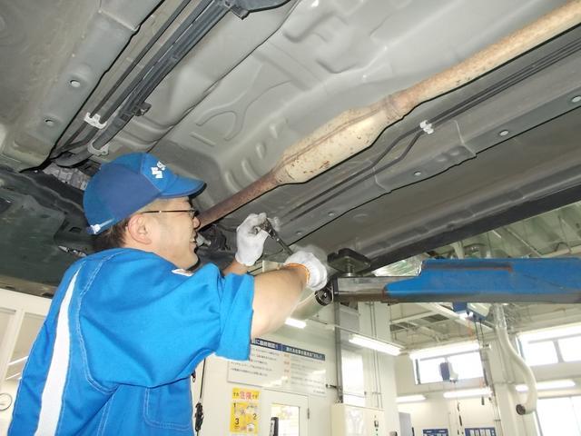 全車納車前点検実施 法定点検(エンジンオイル・エレメント交換含む)整備後のお渡しとなりますのでご安心してお乗り頂けます。