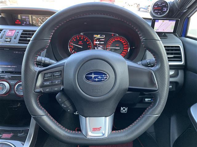 STI タイプS 柿本マフラー アンダースポイラー(FSR) ドライブレコーダー(前 車内) LEDヘッドライト(7枚目)