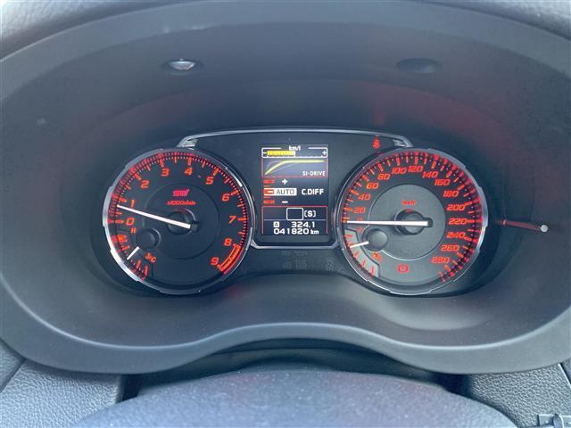 STI タイプS 柿本マフラー アンダースポイラー(FSR) ドライブレコーダー(前 車内) LEDヘッドライト(9枚目)