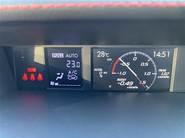 STI タイプS 柿本マフラー アンダースポイラー(FSR) ドライブレコーダー(前 車内) LEDヘッドライト(10枚目)
