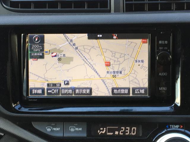 トヨタ アクア X-URBAN スマートキー HIDヘッドライト CD AW