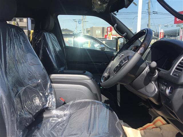 スーパーGL ダークプライムII 登録済未使用車 トヨタセーフティセンスP 両側パワースライドドア ステアリングリモコン LEDヘッドライト モデリスタエアロ(5枚目)