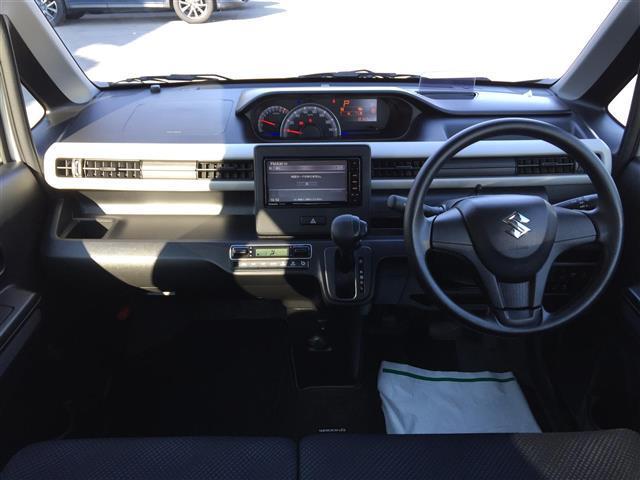 ハイブリッドFX 純正メモリーナビ 地デジ ドライブレコーダー ETC スマートキー プッシュスタート レーダーブレーキ ベンチシート 保証書 シートヒーター(4枚目)