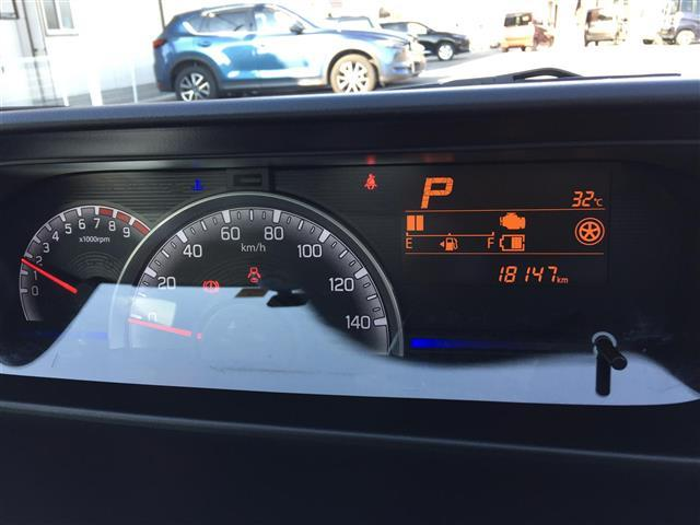 ハイブリッドFX 純正メモリーナビ 地デジ ドライブレコーダー ETC スマートキー プッシュスタート レーダーブレーキ ベンチシート 保証書 シートヒーター(20枚目)