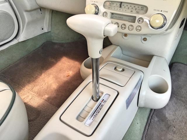 日産 フィガロ フルオープントップ レザーシート ターボ 純正CD/CS
