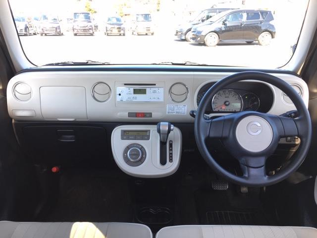 ココアプラスX 4WD 純正オーディオ CD AUX ドアバイザー 電動格納ミラー ウィンカーミラー フォグランプ ライトレベライザー スマートキー(3枚目)