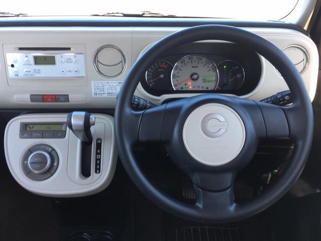 ココアプラスX 4WD 純正オーディオ CD AUX ドアバイザー 電動格納ミラー ウィンカーミラー フォグランプ ライトレベライザー スマートキー(5枚目)